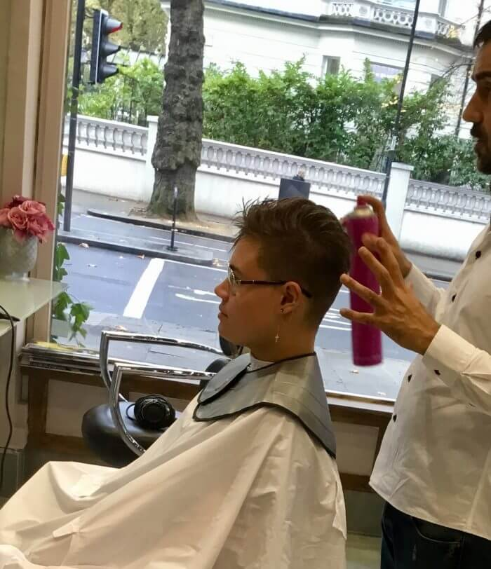 Trendy Short Haircut - Best Hairdresser In London | Kaplan Atelier - Holland Park Avenue, London