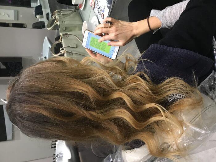 Balayage - Sun Kissed Highlights Hair - Aveda Salon | Kaplan Atelier - Holland Park Avenue, London