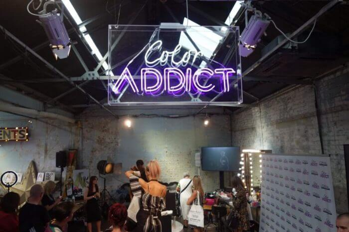 Hair Styling For Color Addict Event - Hair Salon | Kaplan Atelier - Holland Park Avenue, London