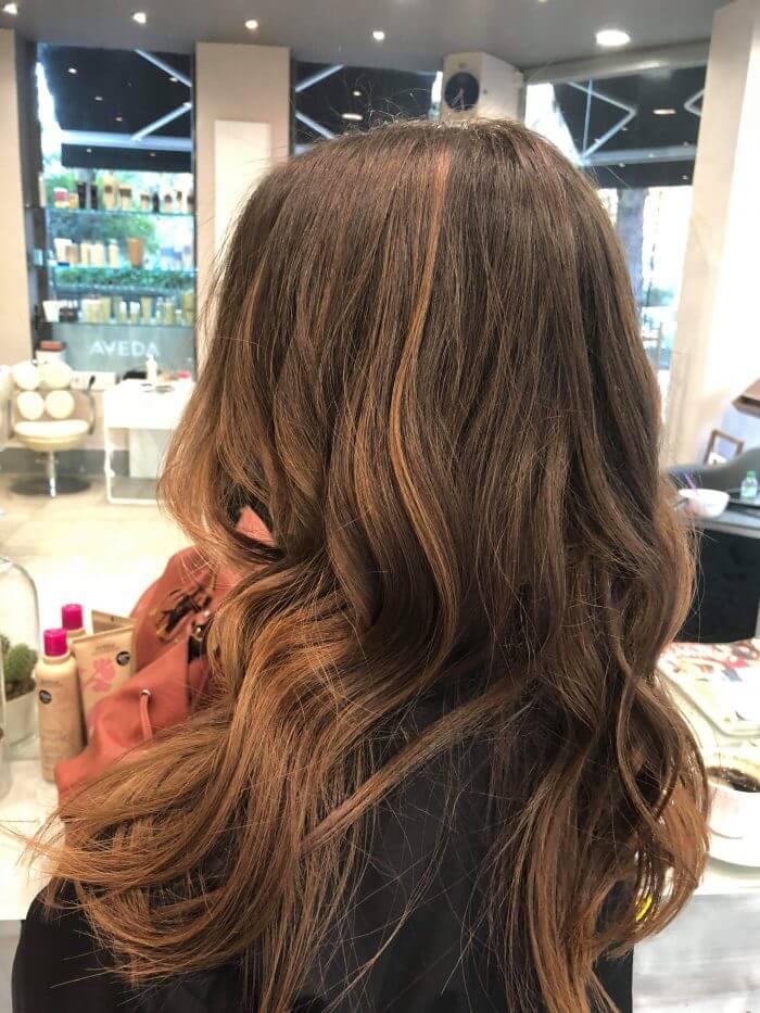 Balayage Hair Colouring, Hair Styling - Hair Salon Client | Kaplan Atelier - Holland Park Avenue, London